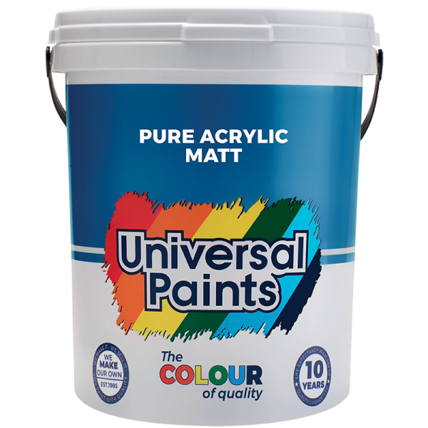 Universal Paints Pure-Acrylic-Matt-20L