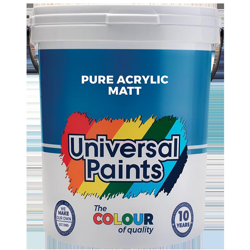 Universal Paints Pure-Acrylic-Matt-20L