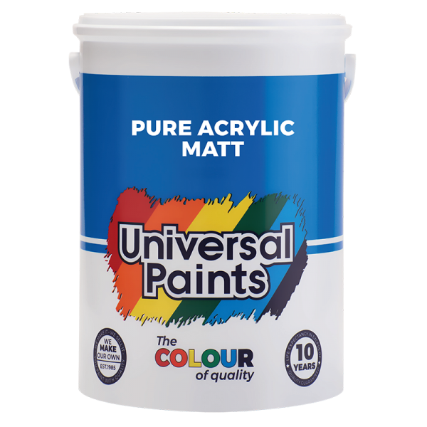 Universal Paints Pure-Acrylic-Matt-5L
