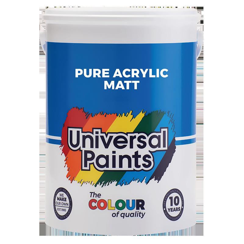 Universal Paints Pure-Acrylic-Matt-5L