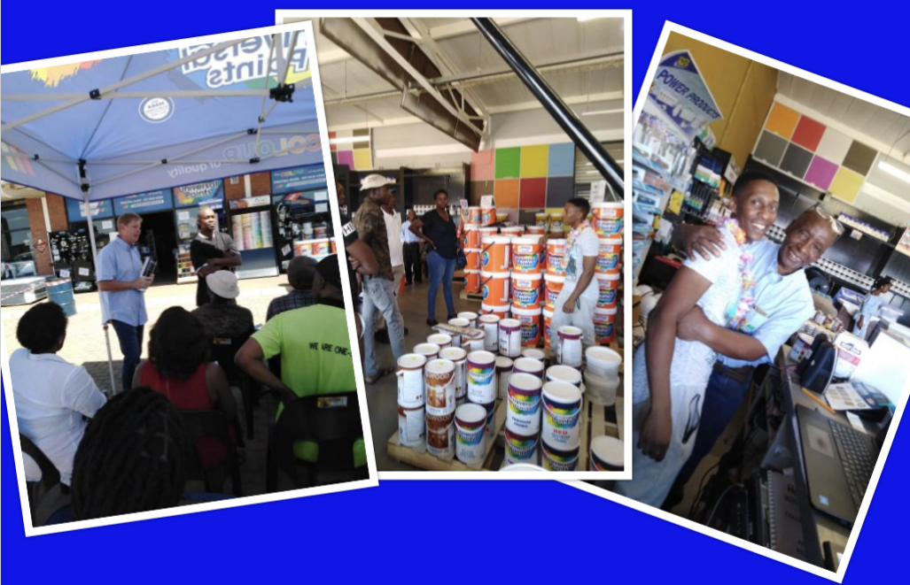 Universal Paints - Soweto Program