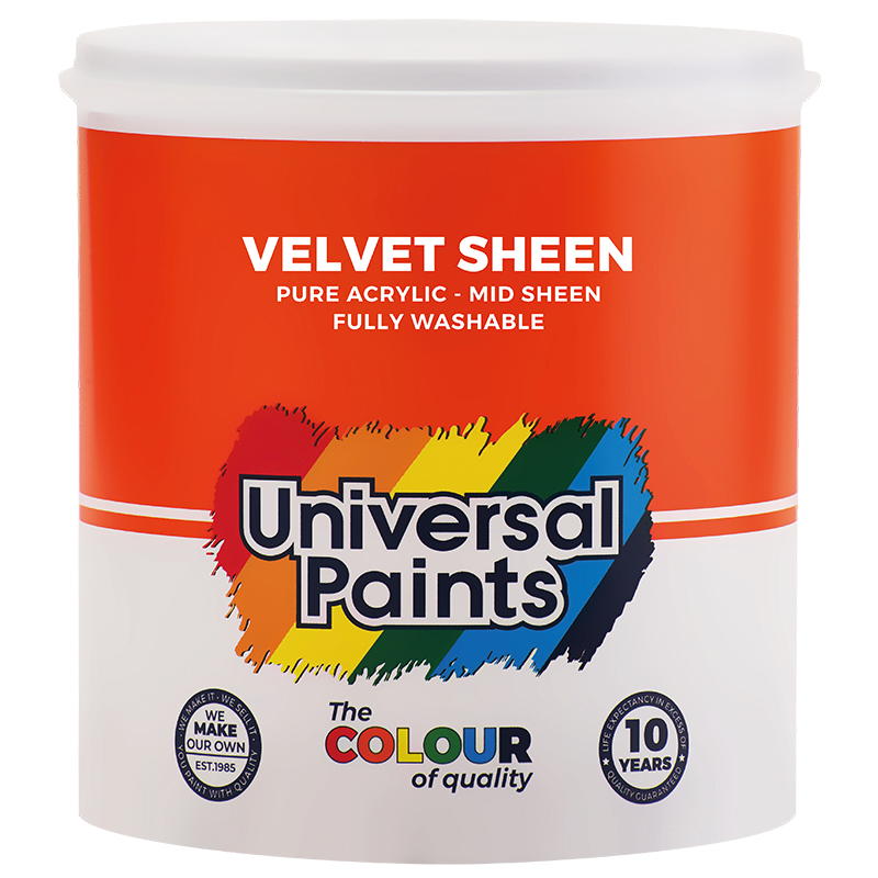 Universal Paints Velvet Sheen 1L