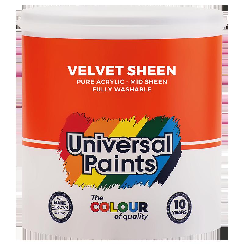 Universal Paints Velvet Sheen 1L