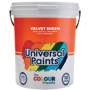 Universal Paints Velvet Sheen 20L