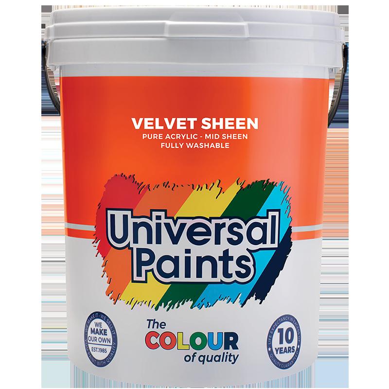 Universal Paints Velvet Sheen 20L
