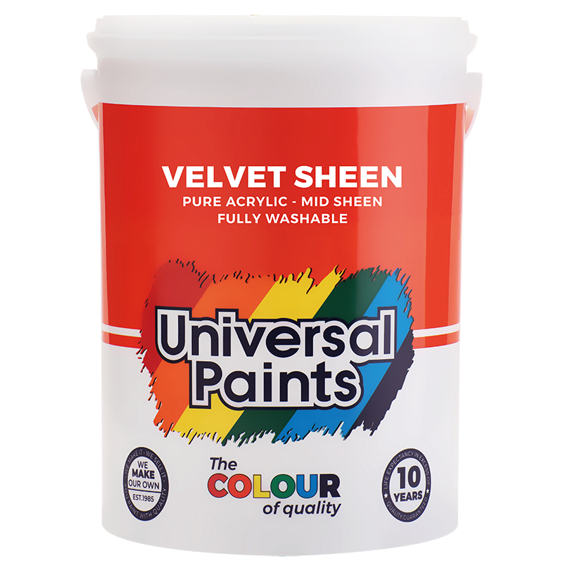 Universal Paints Velvet Sheen 5L