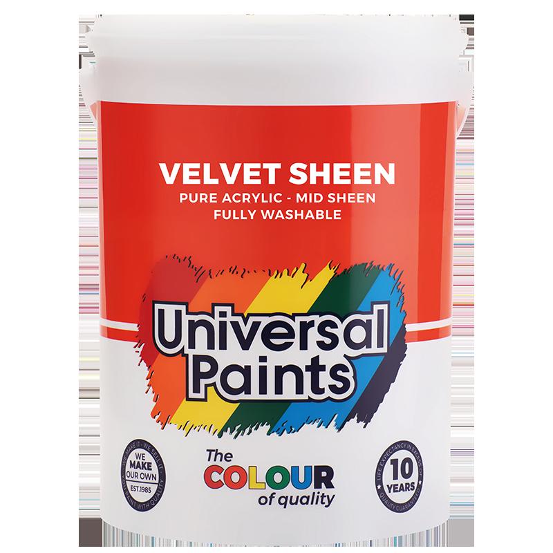 Universal Paints Velvet Sheen 5L